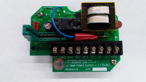 level switch power supply part