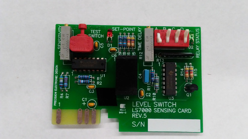 level switch sensing card
