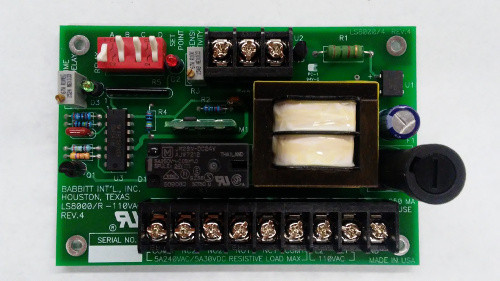 level switch receiver card